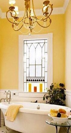 Bathroom Yellow Paint best 20+ cottage style yellow bathrooms ideas on pinterest