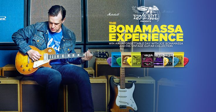 THE JOE BONAMASSA EXPERIENCE: Enter to win an unforgettable day with Joe Bonamassa and his vintage guitar collection! One lucky fan will win an all-expense paid trip to Los Angeles, California to spend time with Joe Bonamassa and a selection from his vintage guitar collection, a custom Ernie Ball Music Man guitar, A Dunlop JB95 Bonamassa Cry Baby, a Dunlop JBF3B Bonamassa, and Ernie Ball Strings and Accessories Prize pack. Visit your favourite local music store for more details. Click this…