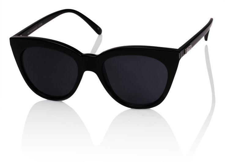 Le Specs Cat Eye Sunglasses : Minimal + Classic