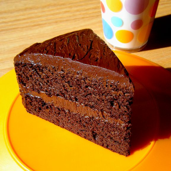 Black bean chocolate cake... OMG.... so good!
