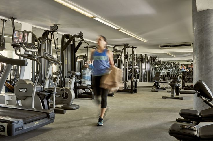 Work out in our Olympus Gym and enjoy the benefits of a fit holiday!