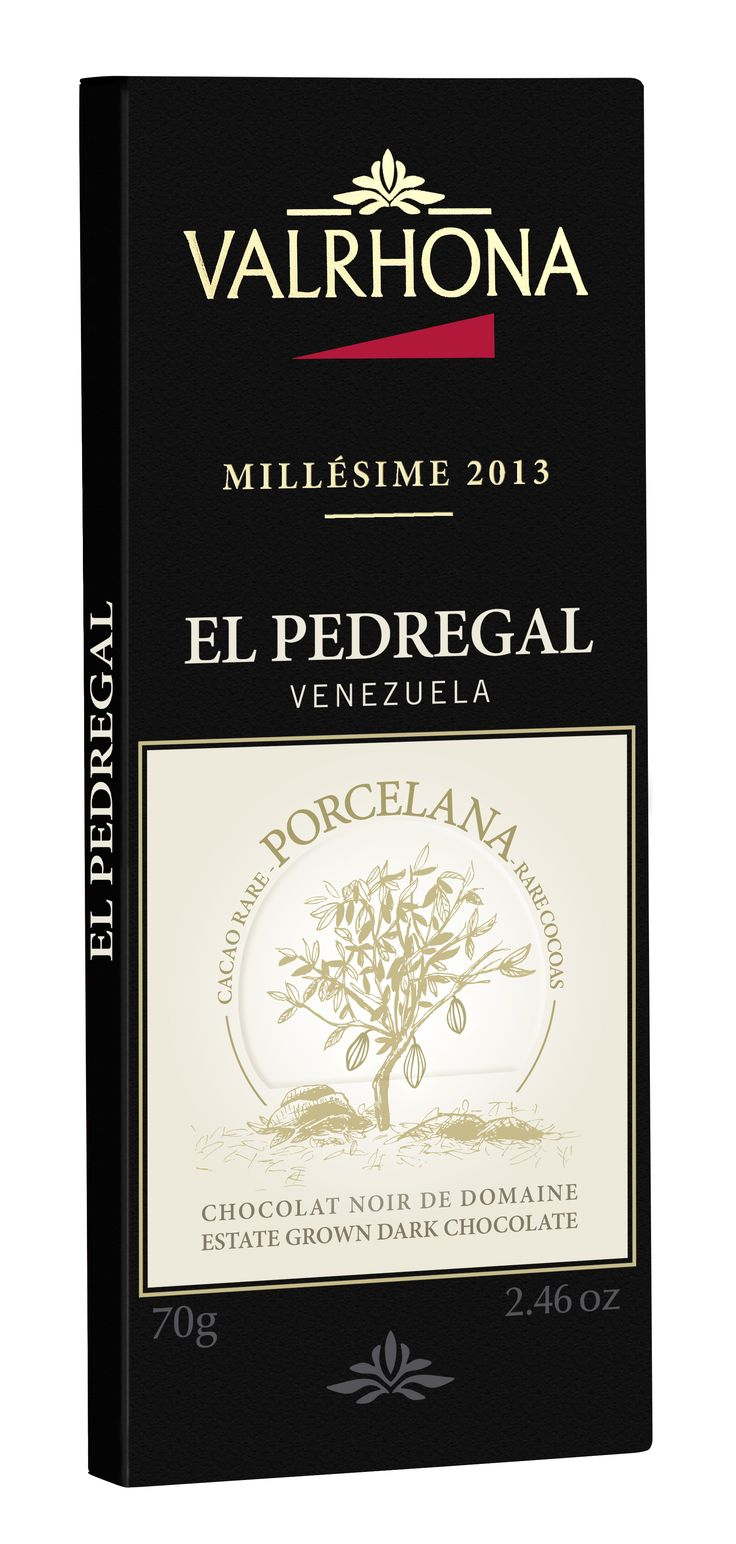 EL PEDREGAL 64% ORIGINE VENEZUELA Le Porcelana est une variété de cacao Criollo rarissime, reconnue pour son exceptionnel pouvoir aromatique. EL PEDREGAL 64% VENEZUELA The Porcelana is an extremely rare variety of Criollo cocoa, that is renowned for its outstanding aromatic power.