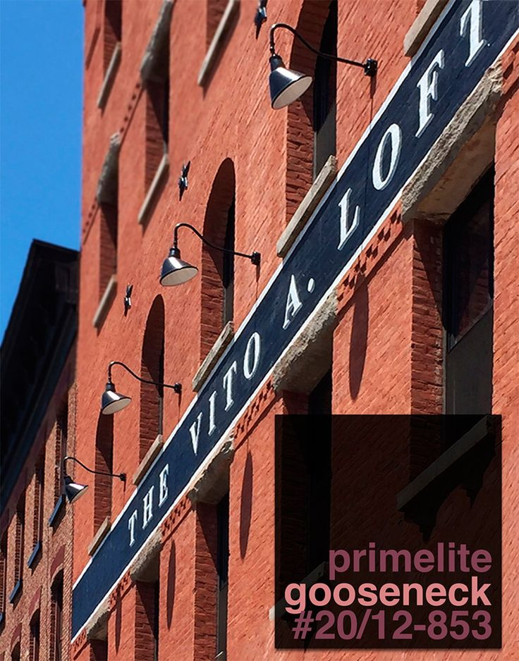 What's the Buzzzzz in Jersey City, NJ? http://primelite-mfg.com/bz0610/ Primelite Gooseneck #20/12-853 is the buzz! Establishment: The Vito A. Lofts, Jersey City, NJ Installation: Exterior, Sign Illumination #light #lights #sign #signs #gooseneck #goosenecklight #electrician #electric #interiordesign #construction #contractor #contractors #lightingdesign #lofts #nj #newjersey #jerseycity