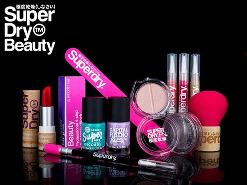 Introducing Superdry Beauty.