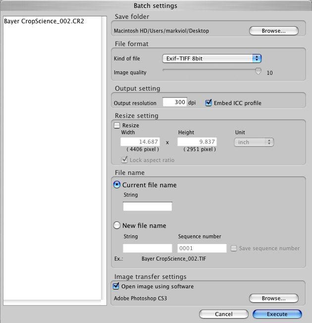 Canon Digital Photo Professional (DPP) Workflow Tutorial | Ravenshoe Group