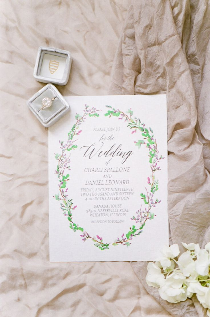 happily ever after wedding invitations%0A invitation from Wheaton Illinois Wedding  http   www trendybride net