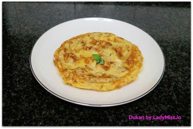El Diario de mi Dieta Dukan by Lady MissJo: TORTILLA DE PUERROS