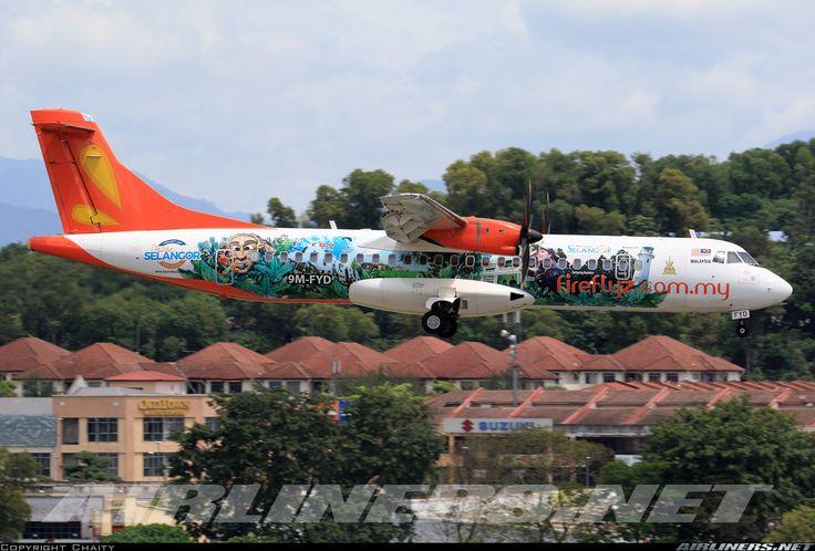 ATR ATR-72-500 (ATR-72-212A) - Firefly | Aviation Photo #4187011 | Airliners.net
