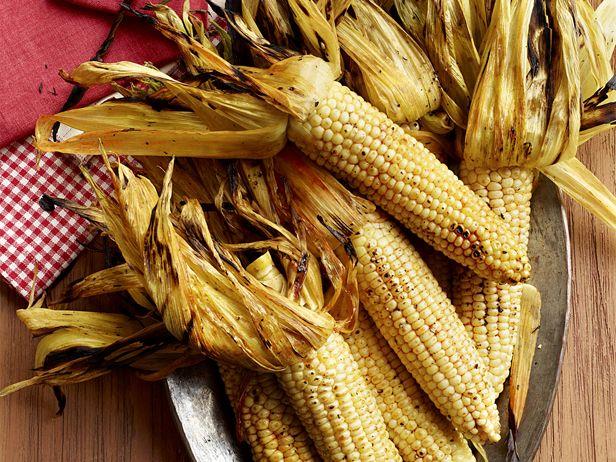 Smoky Corn On the Cob  FoodNetwork.com