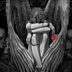 The 25 best fallen angel tattoo ideas on pinterest fallen angel fallen angel of chains thecheapjerseys Choice Image