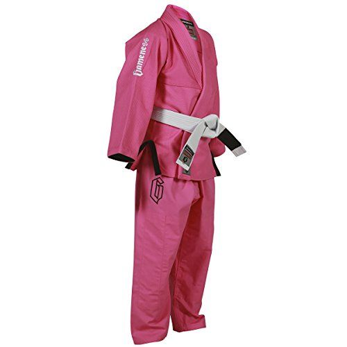 The Gameness Youth Air Gi is a premium BJJ Gi that was modeled after the award winning Gameness Air Gi. A great ultralight option for youth grapplers with the same quality materials and stitching as t...