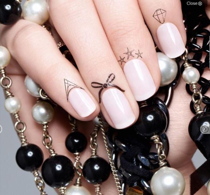 Après les centaines de couleurs de vernis, puis les magnétiques, les craquelés,les faux ongles, les stickers, les strass… Voici les tatouages pour cuticules! Le nail art n'en finit pas de nous surprendre!