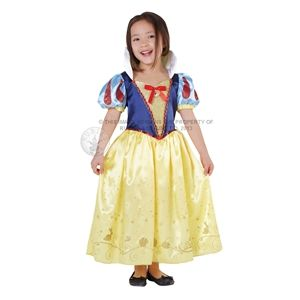 Childrens Snow White Fancy Dress Costume Disney Princess Outfit 3-4 Yrs