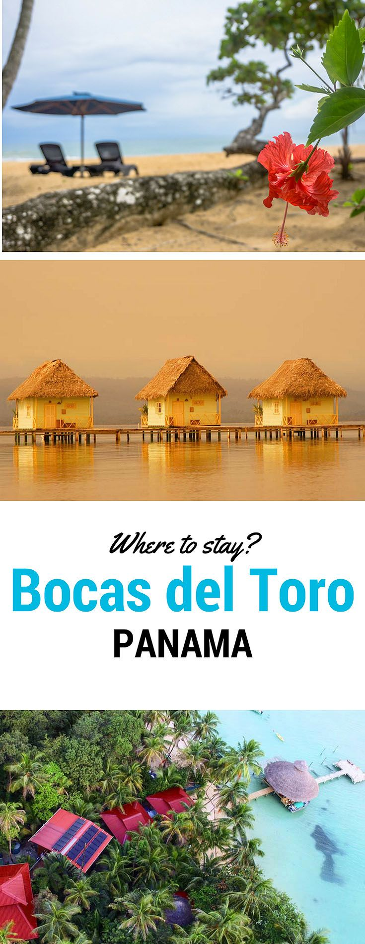 We like five-star hotels :-). So the first question on our minds after deciding to go: What are the best places to stay in Bocas del Toro? Tricky, because you'll be hard-pressed to find true luxury hotels on Bocas del Toro. However, we found and stayed at these 3 wonderful boutique eco-inns -- see our reviews of these best places to stay on Bocas del Toro...