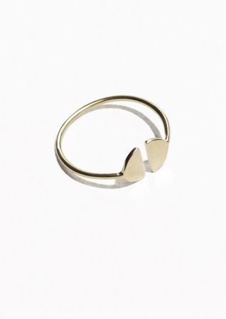 & Other Stories | Half Moon Ring