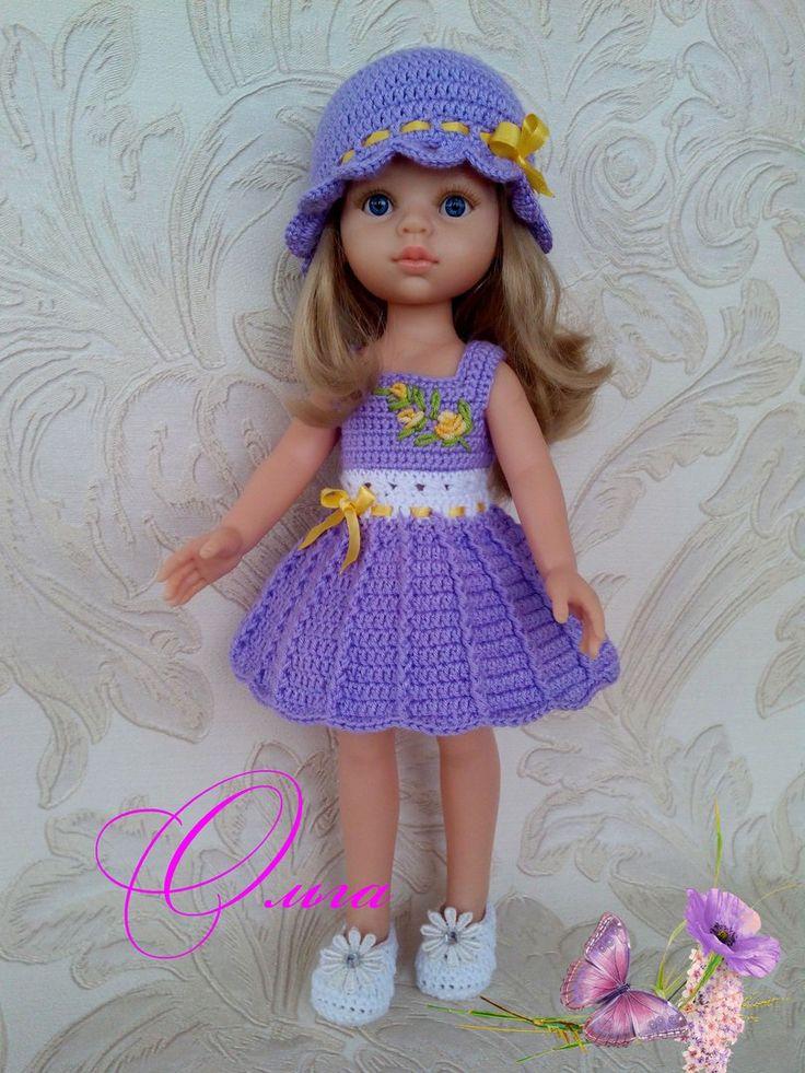 Одежда для кукол Паола Рейна (32см) своими рукам