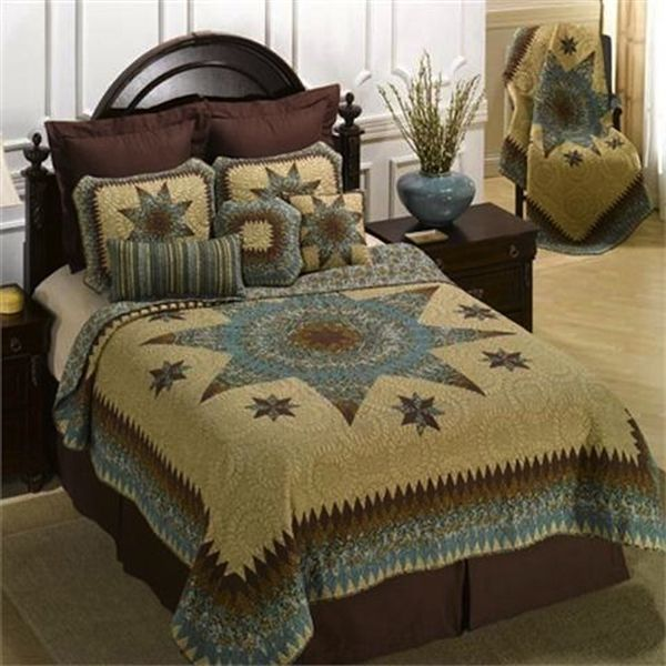 Donna Sharp Sea Breeze Star Quilt - Paul's Home Fashions