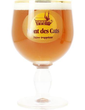 Verre Trappiste Mont des Cats: Savourez la seule bière Trappiste française dans son verre calice adapté Mont des Cats !