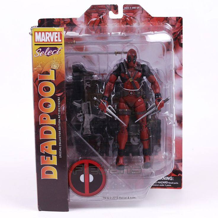 Marvel Select Univeres Legends Wade Wilson Deadpool Action Figure Model Toy 18cm #Affiliate