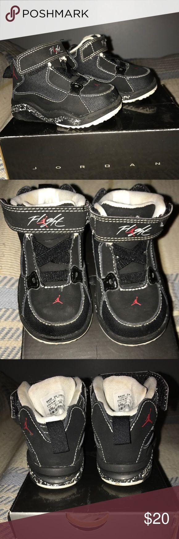 Toddler Jordan Ol'school 3,  size 4.5 Black, white, and red Jordan ol' school III toddler sized 4.5 Jordan Shoes Sneakers