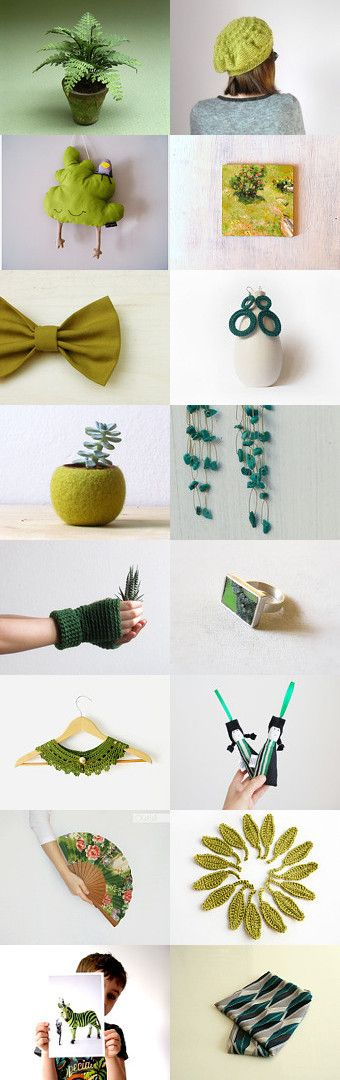 GREEN GRASS by Claudia Viola on Etsy--Pinned with TreasuryPin.com