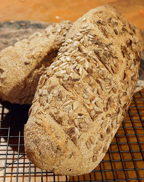 This 100% Wholemeal Wheat Bread is my staple bread recipe. Even with a newborn and a toddler to look after I manage to bake this twice a week, so that we never have to buy bread.