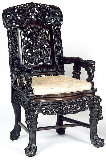 Hongmu Armchair · Antique ChairsWooden ...
