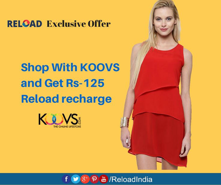 Shop and #Reload your wallet. Reload in seconds via https://www.reload.in/shop-and-earn-free-mobile-recharge-online