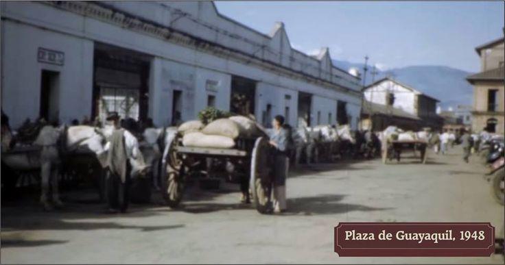 Fachada del Pasaje Sucre. Medellín. Año 1948.