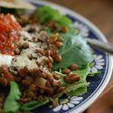 http://www.stacymakescents.com/crock-pot-lentil-burrito-bowls