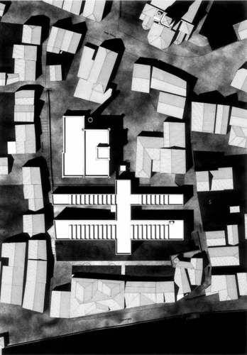 site plan | Kunsthalle Adolf Würth | Giorgio Grassi