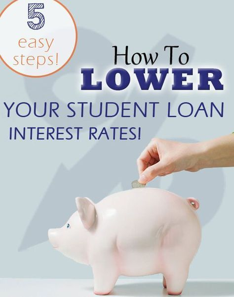 You guys! I feel like I've done the impossible!! After YEARS I finally figured out how to get our student loan interest rates lowered - AND YOU CAN TOO!   I have contacted our student loan companies many times, asking if there was any way to lower our rates, and I was always given the same ... Student Loans Payoff #StudentLoans #debt