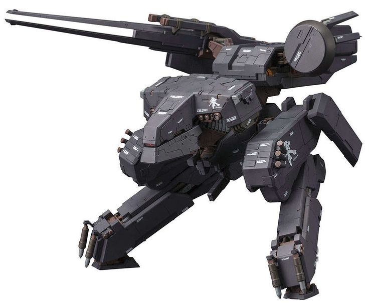 Metal Gear Solid Plastic Model Kit 1/100 Metal Gear Rex Black Ver. 22 cm