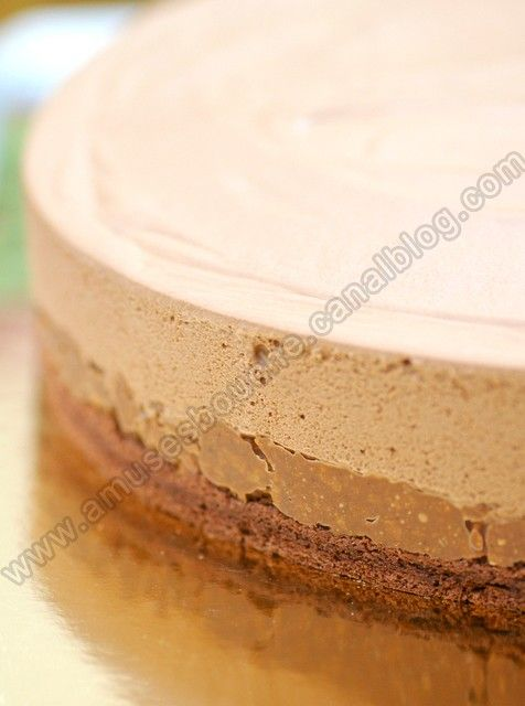 Gateau mousse trianon