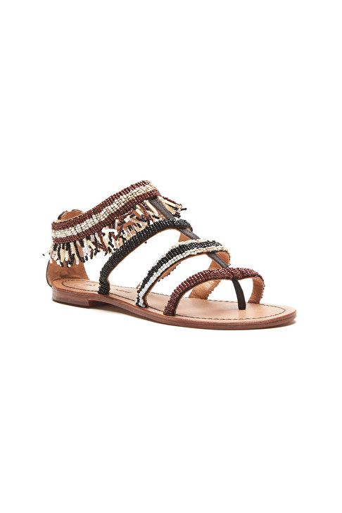 AFRO STRIPES sandals
