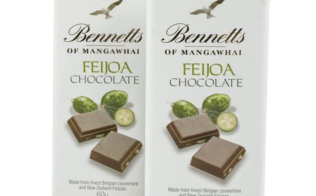 Dickens around: Bennett's Chocolate