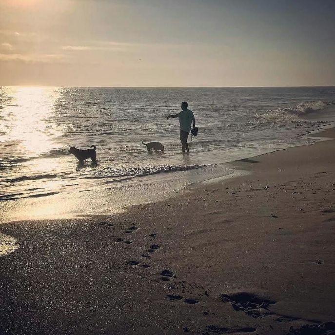Another stunning sunrise along are gorgeous Treasure Coast, thank you for your wonderful photography! #Repost @big fish tails -Beach December 22. #verobeach #melbournebeach #spacecoast #treasurecoast #satellitebeach #indianriverlagoon #sebastianinlet #indialanticbeach #dogsofvero vero #pamelastimpsonphotography #verobeachfl #poinsettiagroves #indianriver