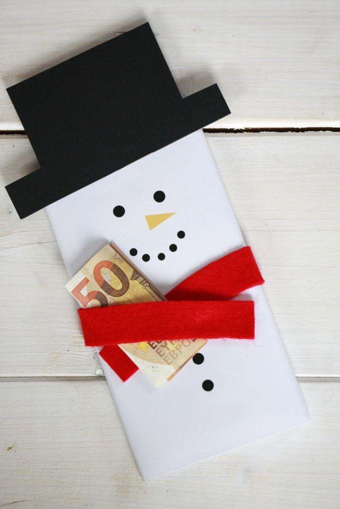 Dankeschön-Geschenk basteln: Geldgeschenke Weihnachten kreativ ...