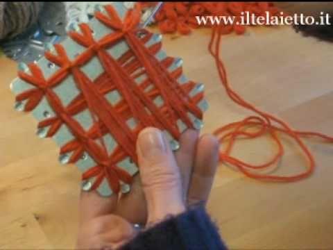Videocorso Telaietto quadrato in metallo - Il Telaietto, vendita online di telai e telaietti per lavorare lana e altri filati - Il Telaietto uniformare i lati