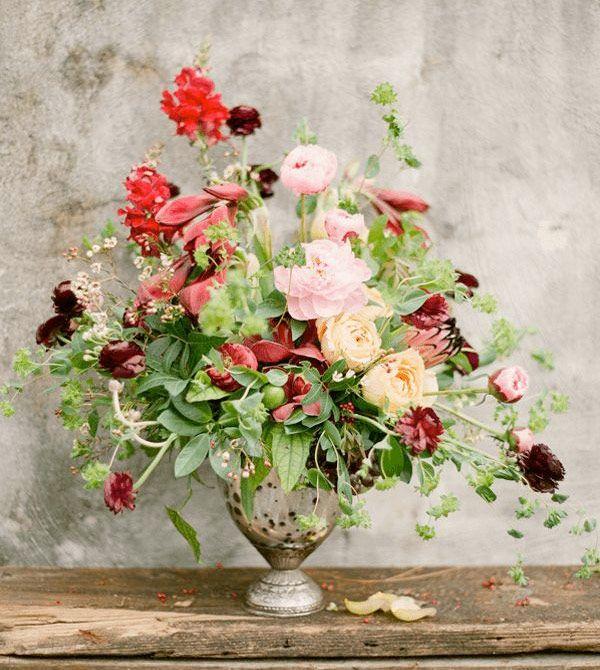 2/3-tricket, en smart tumregel när man ska arrangera blommor proportionerligt i vas.