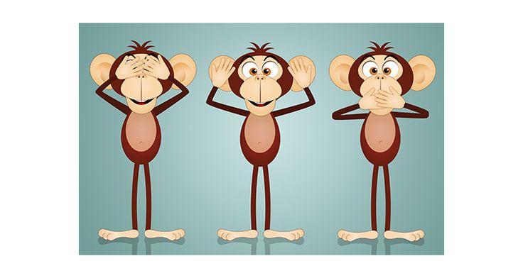 Αστείοι πίθηκοι, Παιδικά, Αυτοκόλλητα ντουλάπας