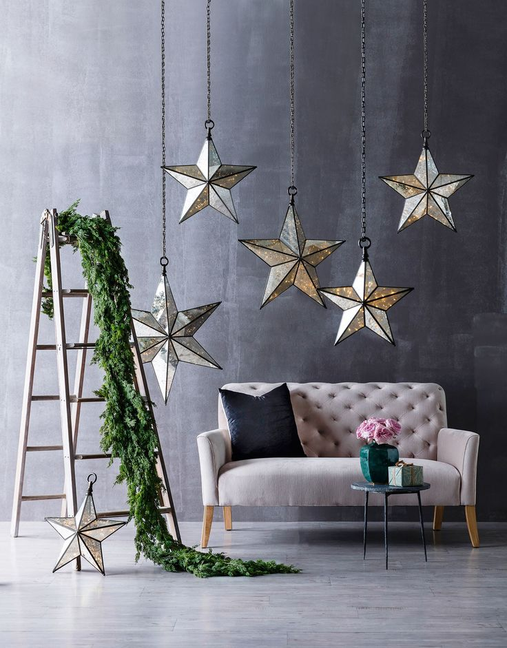 Christmas House & Garden...ladder from Elements i love #interiors #styling