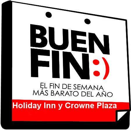 Ofertas del Buen Fin 2015 en Holiday Inn y Crowne Plaza