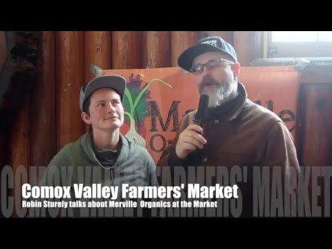 Merville Organics at the Comox Valley Farmers' Market: Part of the #WeAreYQQ local food economy - WeAreYQQ