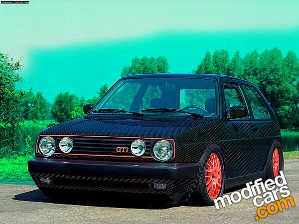 Volkswagen Girls | Volkswagen Golf GTi Mk2 1992 Virtual Tuning Car Picture .
