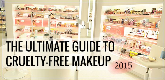 Cruelty-Free Makeup Brands: this is a great master list of top makeup brands that are cruelty free and which products are the best