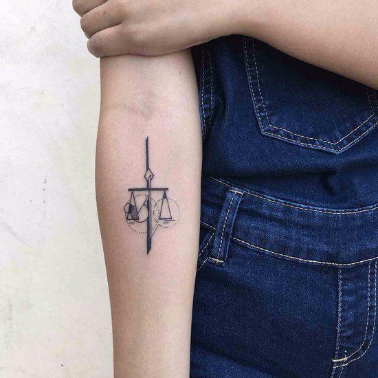 Libra Tattoo Ideas