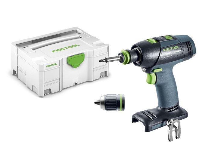 Festool 574763 Cordless drill  T 18+3 Li-Basic