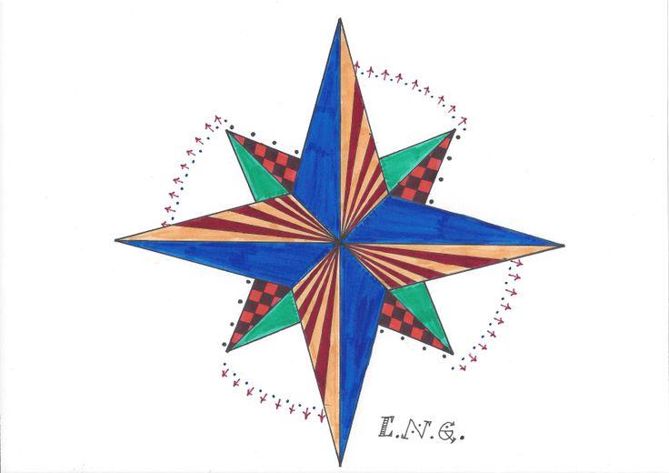 L.N.G. Original Zentangle #10