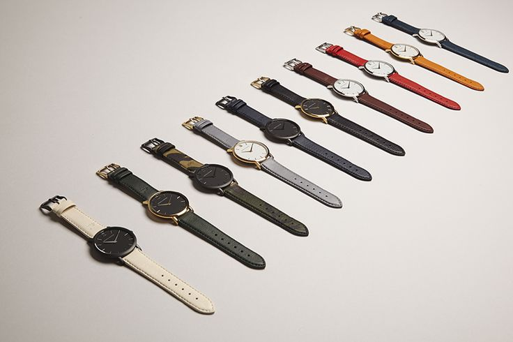 Give me one in every color. Larsson & Jennings. Anglo-Swedish design. Handmade in Switzerland.